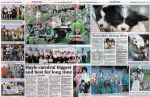 The double page spread of the Heylfest Week 2009
