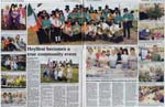 A second double page spread of the Heylfest Week 2006