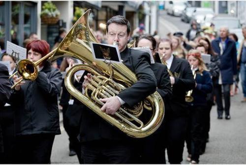 Marching at Carnival